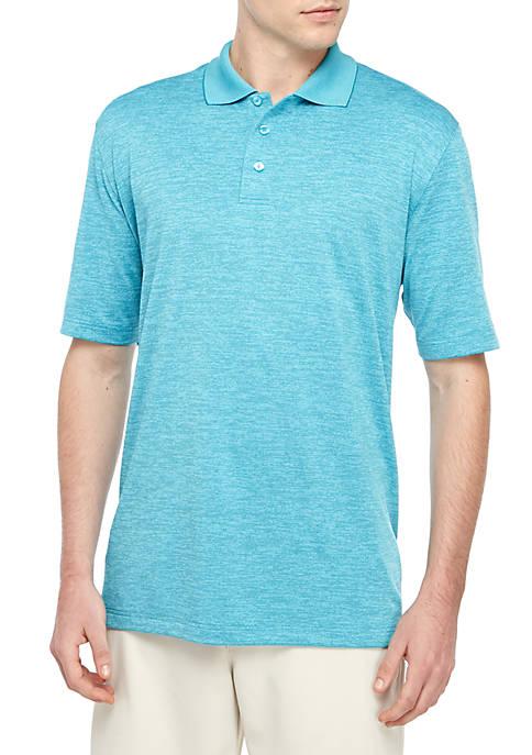 Big & Tall Short Sleeve Space Dye Polo