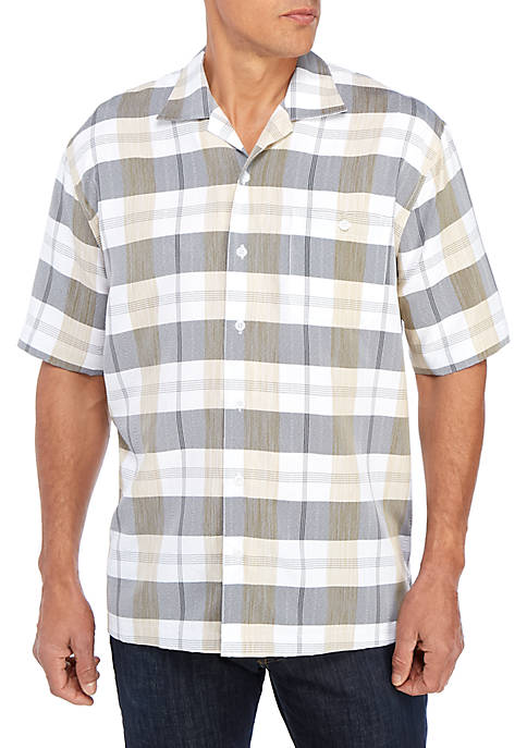 Short Sleeve Camp Classic Fit Shirt