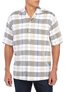 Saddlebred® Short Sleeve Camp Classic Fit Shirt