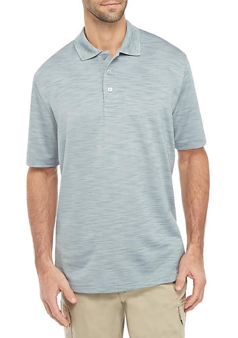Grid Short Sleeve Polo