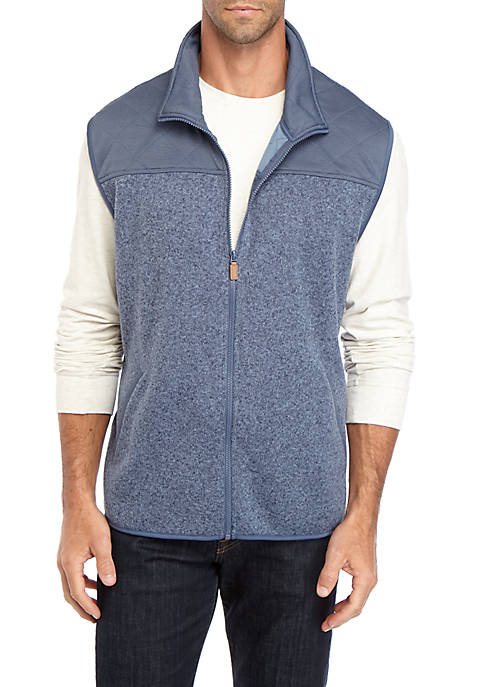 Quick Dry Sweater Fleece Solid Vest
