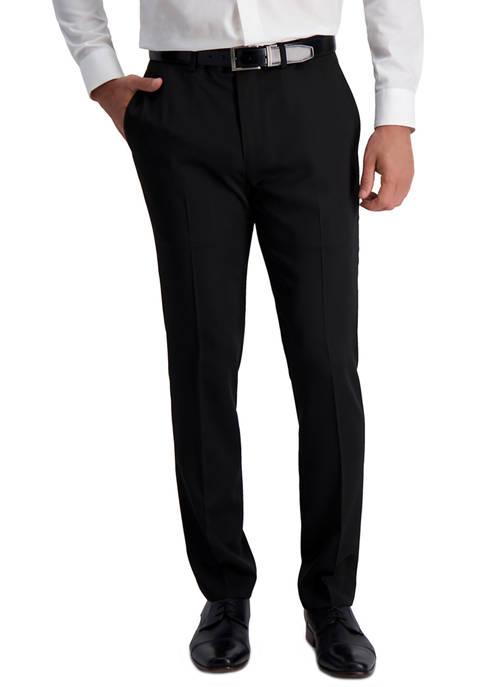 Mens Stretch Heather Slim Fit Suit Separate Pants