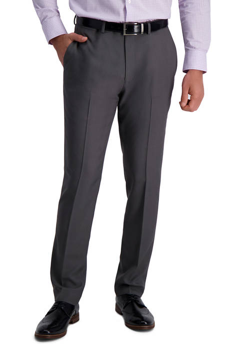 Mens Stretch Stria Slim Fit Suit Separate Pants