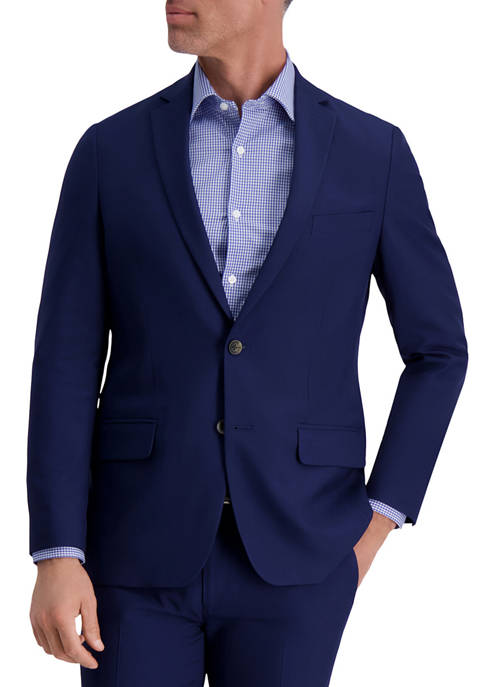 Louis Raphael Stretch Stria Slim Fit Suit Separate