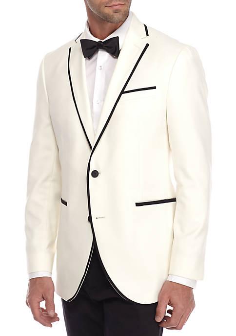 Kenneth Cole Ivory Evening Jacket