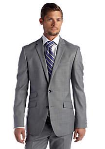 Stepweave Solid Suit Separate Coat