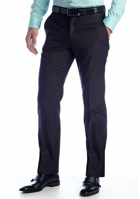 Slim Fit Charcoal Tic Suit Separate Pants