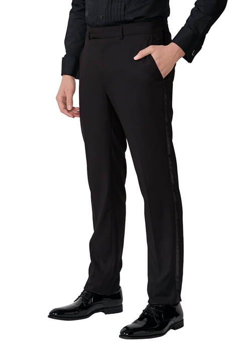 Kenneth Cole Modern Fit Tuxedo Pants