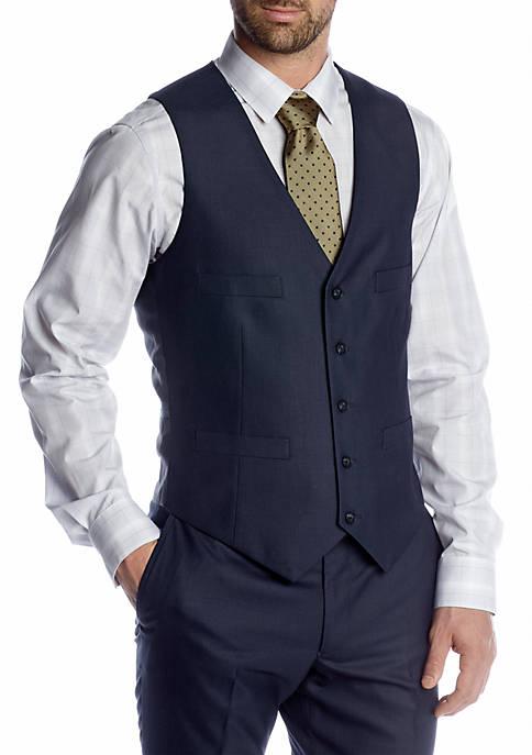 Kenneth Cole Reaction Slim Fit Suit Separate Vest