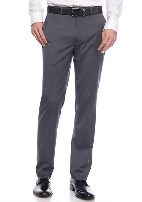 Kenneth Cole Wool Flat Front Pant