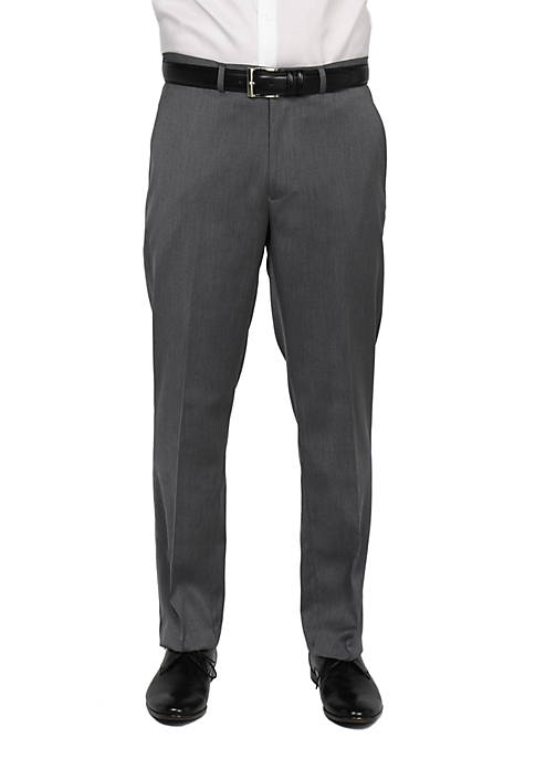 Kenneth Cole Stretch Flat Front Pants