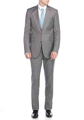 599c36f558b05 Kenneth Cole Reaction Slim-Fit Solid Suit ...