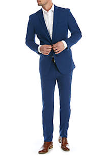 Kenneth Cole Reaction 2-Piece Solid Stretch Suit