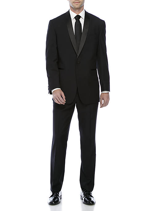 Kenneth Cole Reaction Black Tic Off Suit Set