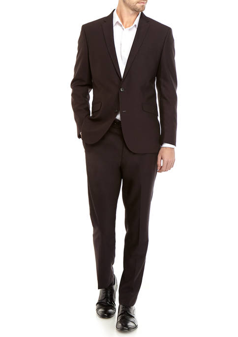 Kenneth Cole Reaction Mens Iridescent Suit