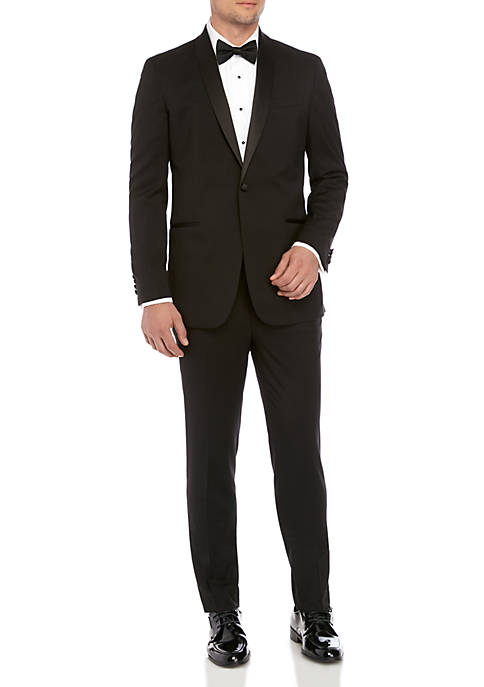 Kenneth Cole Reaction Techni-Cole Performance Shawl Collar Tuxedo