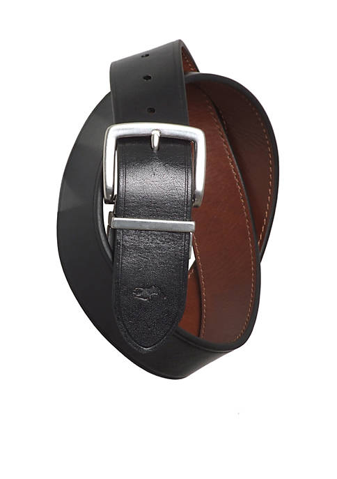 Casual Reversible Leather Belt