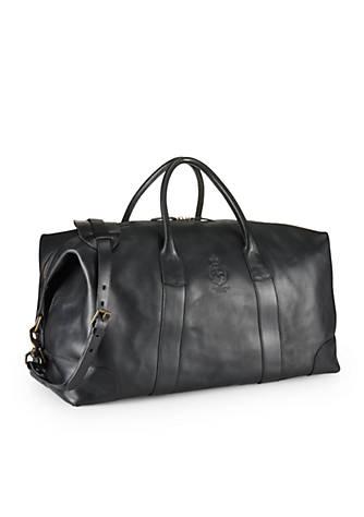 8acc250b4f3b Polo Ralph Lauren. Polo Ralph Lauren Leather Duffel Bag