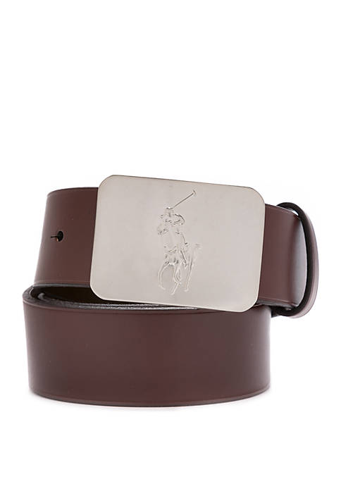 Big Plaque Reversible Belt