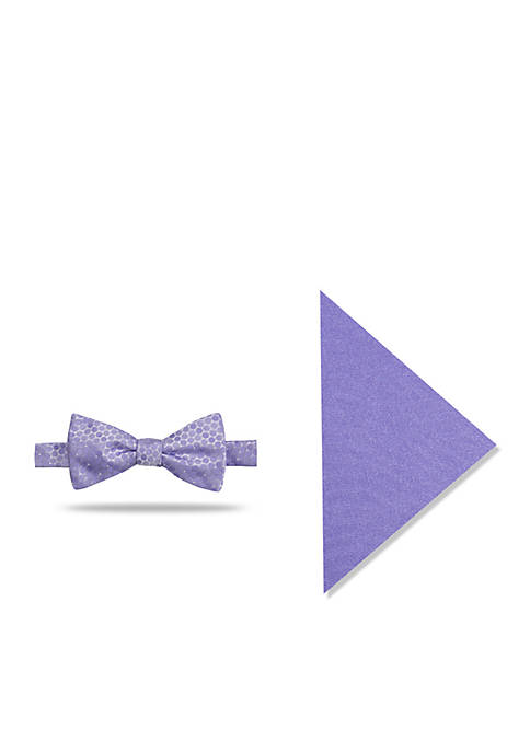 Madison Babies Dot Pocket Square and Bow Tie