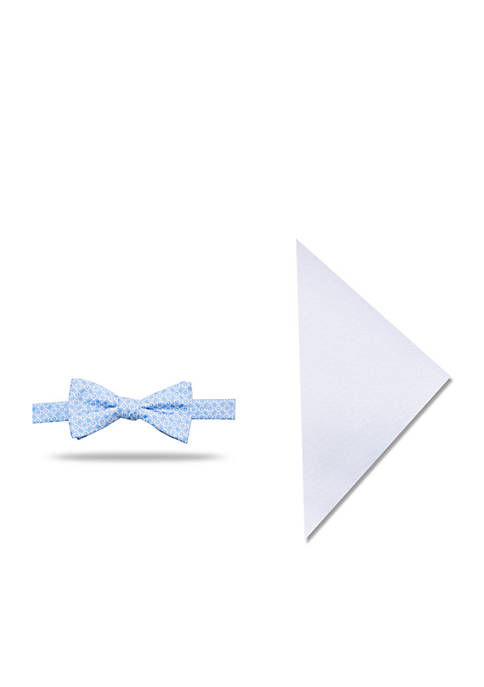 Madison Baker Neat Bow Tie Pocket Square Set
