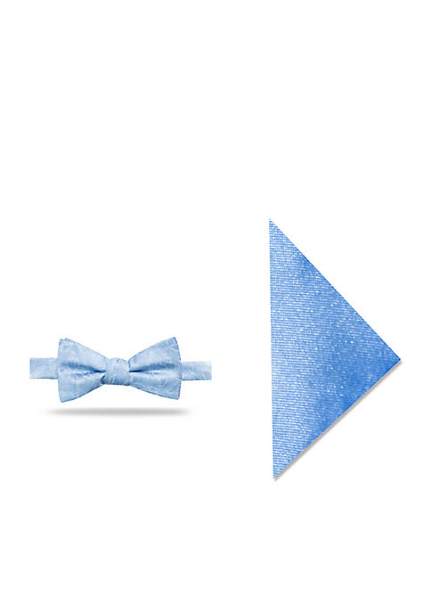 Madison Opal Floral Bow Tie