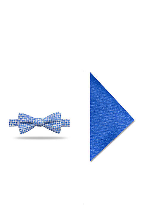 Madison Robert Neat Bow Tie & Pocket Square