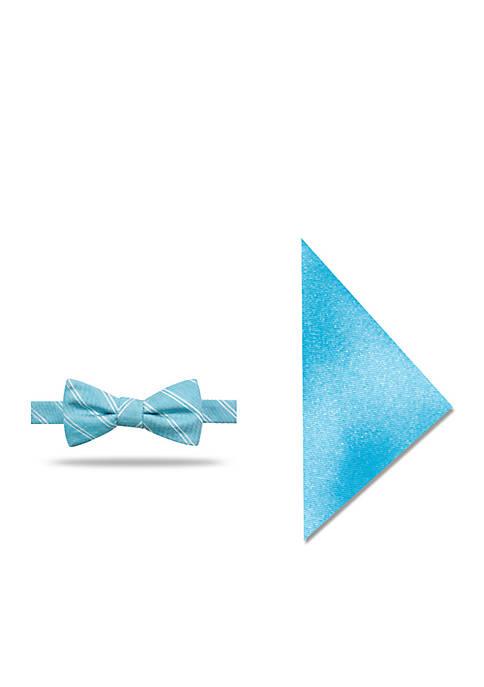 Madison Rome Stripe Bow Tie