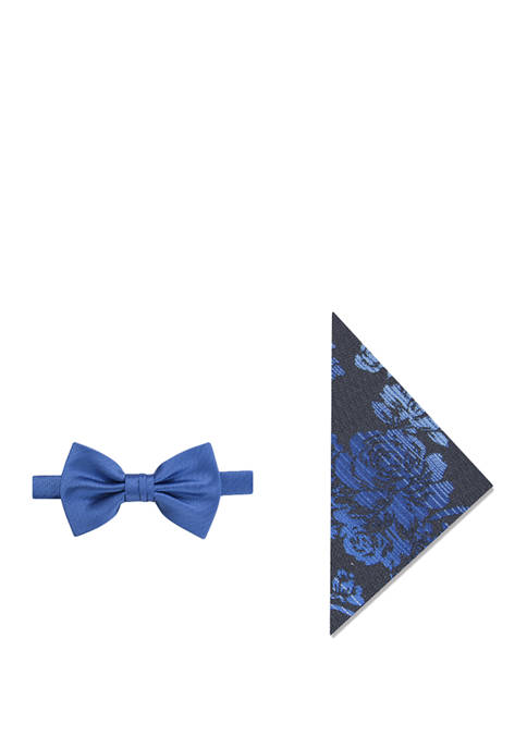 Madison Keir Floral Bow Tie and Pocket Square