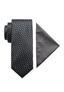 Madison 2-Piece Largo Neck Tie and Pocket Square Set
