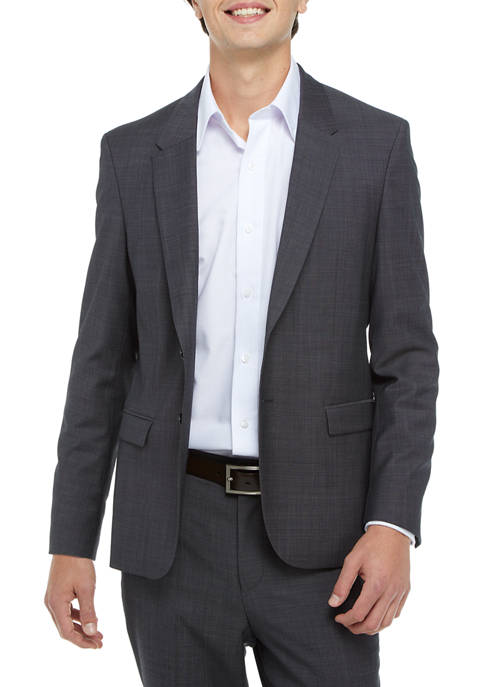 Hugo Boss Dark Blue Textured Sportcoat