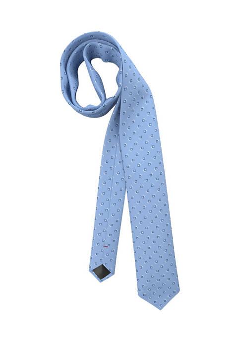 Hugo Boss Neat Square Medium Blue Tie