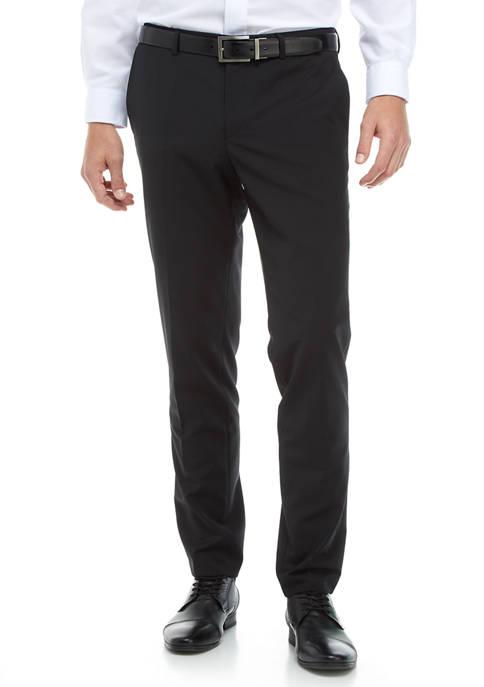 Hugo Boss Black Solid Dress Pants