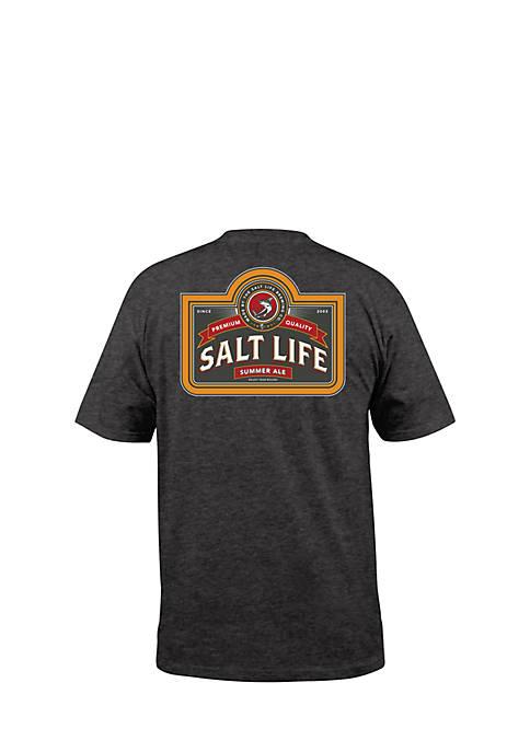 Salt Life Brewing Company Pocket Tee