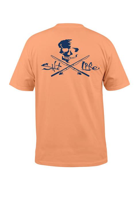 Salt Life Short Sleeve Skull & Poles Shirt