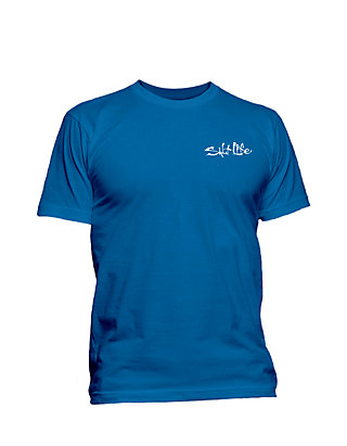 3df8cdbf4ddd Salt Life. Salt Life Hook Line and Sinker Fade Short Sleeve Graphic Tee