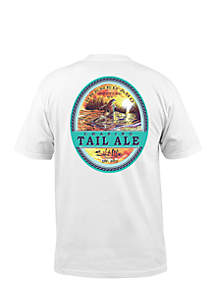 Short Sleeve Chasing Tail Ale Graphic Tee
