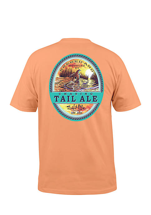 Salt Life Short Sleeve Chasing Tail Ale Graphic