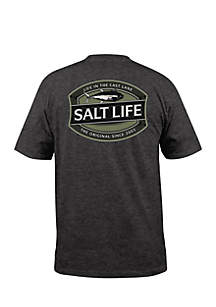 Salt Life SS LIFE IN THE CAST LANE Short Sleeve In The Case Lane Graphic Tee