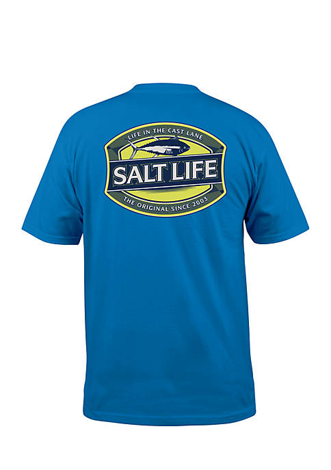 Salt Life SS LIFE IN THE CAST LANE