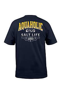 Aquaholic Icons Short Sleeve Shirt
