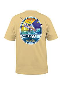 Salt Life Sailin' Ale Short Sleeve Shirt