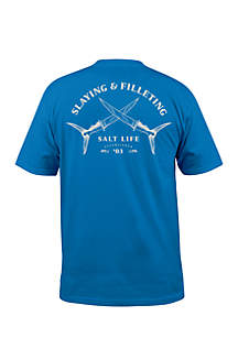 Slaying and Filleting Short Sleeve Shirt
