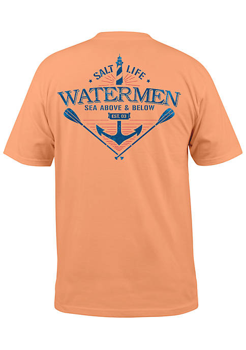 Salt Life Short Sleeve Sea Above And Below