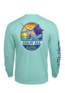 Long Sleeve Sailin' Ale Shirt
