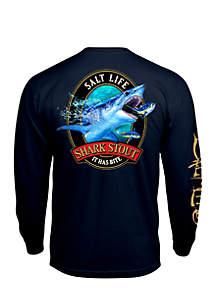 Long Sleeve Shark Stout Shirt