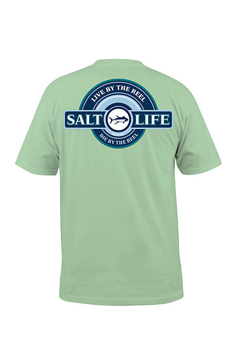 Salt Life Short Sleeve Live By The Reel