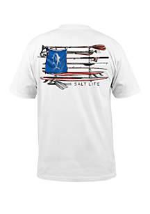 Salt Life Salt Quiver T Shirt