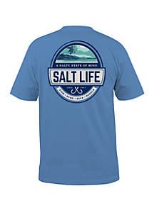 Salt Life Scenic State Of Mind Short Sleeve T Shirt
