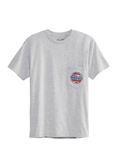 Salt Life Mens Salty Mind Graphic T-Shirt